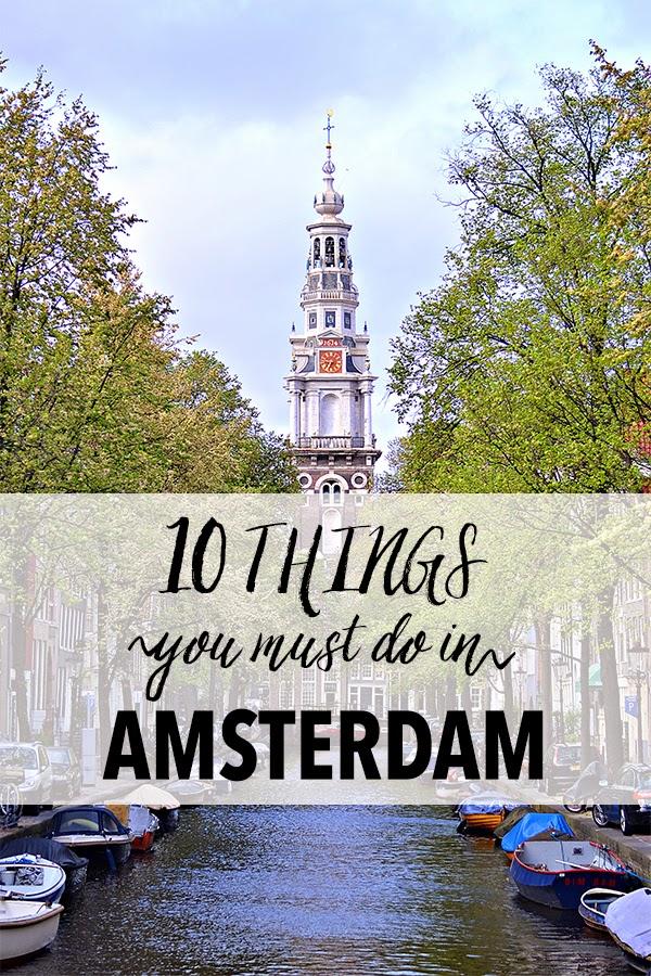 10 Things: Amsterdam