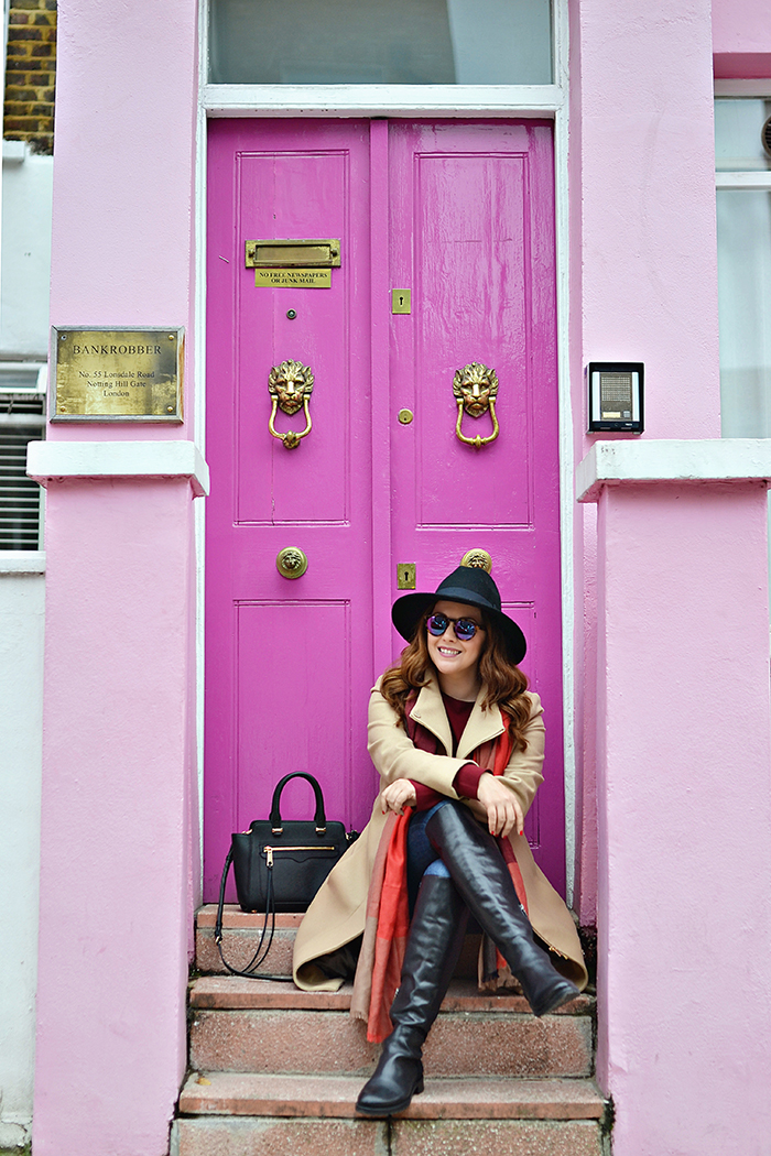 A Colorful Tour of Notting Hill