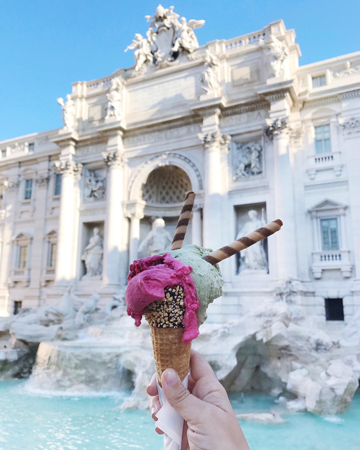 Baroque Art Gelato Crawl in Rome