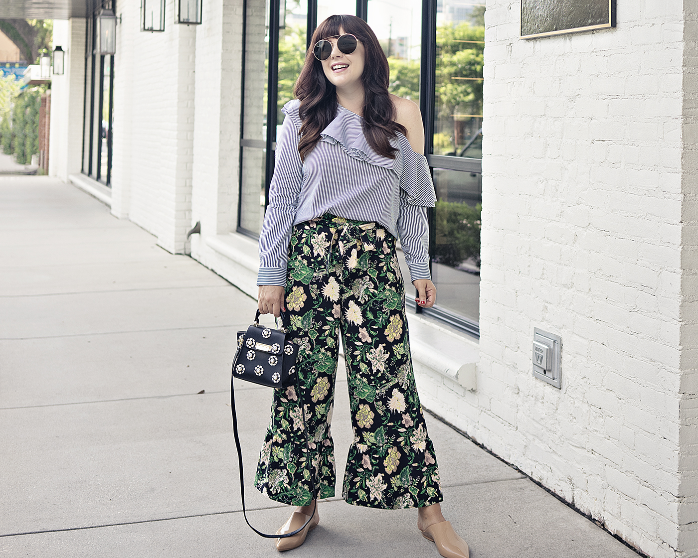 The Ruffle Cropped Pant